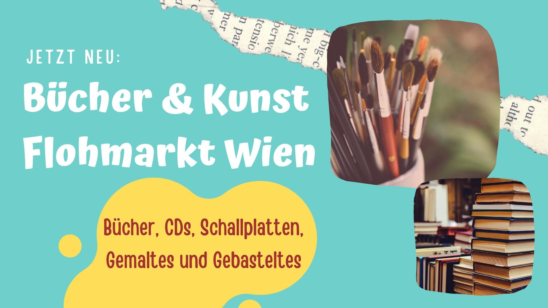 Bücher+Kunst Flohmarkt